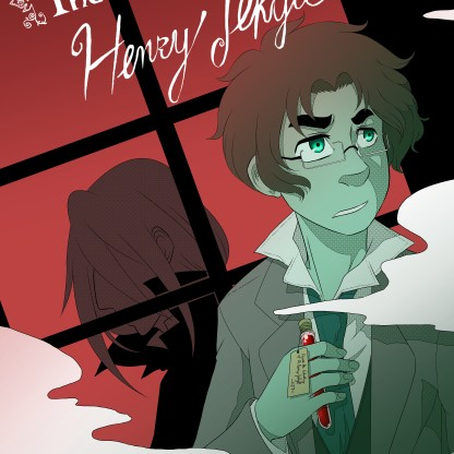 The Search for Henry Jekyll first cover