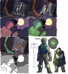 Fantasy Card Thumbnails 2