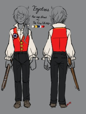 Costume Design- Enjolras