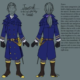 Costume Design- Javert